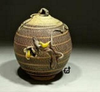 Ed Rivera ceramic vessel