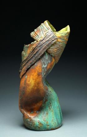 Strapped Vase by MaryJane Findlay