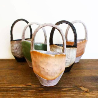 Ceramic Baskets by Tara Underwood