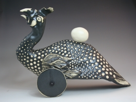 Libba Tracy ceramic sculpture