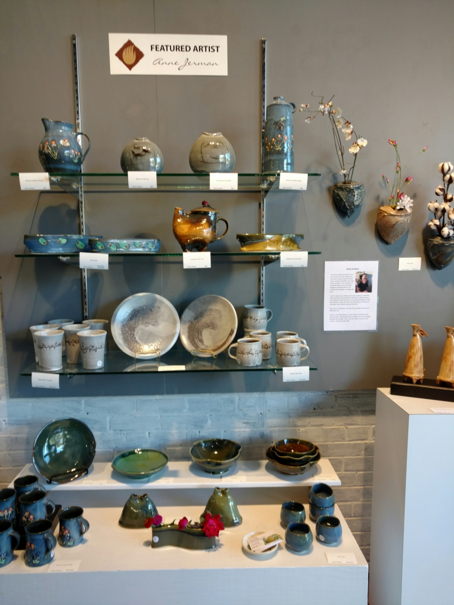 Anne Jerman pottery