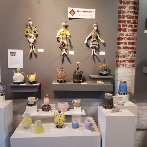 Laura Peery, Featured Artist - whimsical ceramic art